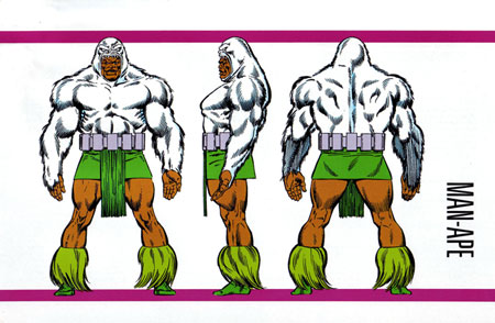 Man-Ape Image from The Official Handbook Of The Marvel Universe - Master Edition #03 (1991)
