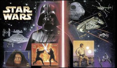 Star Wars Stamps (click for full image) - Coming May 26