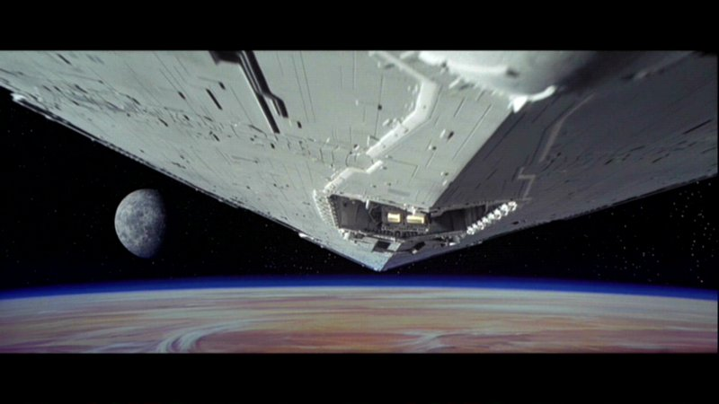 The image of the Star Destroyer that mesmerized me 30 years ago.