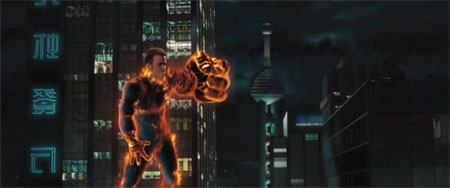 The Human Torch (Johnny Storm) from Rise of the Silver Surfer