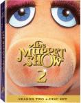 Muppet Show Season 2 DVD set featuring a Miss Piggy cover