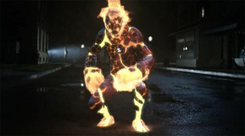Ben 10 character Heatblast from the live-action movie