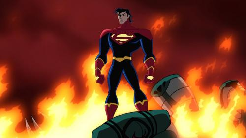 Superman Clone (Kel) from the 41st Century in the Legion of Super Heroes Season 2