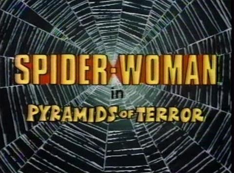 Spider-Woman - Pyramids of Terror