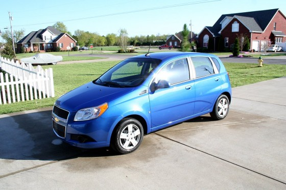 2009 aveo LS - Blue