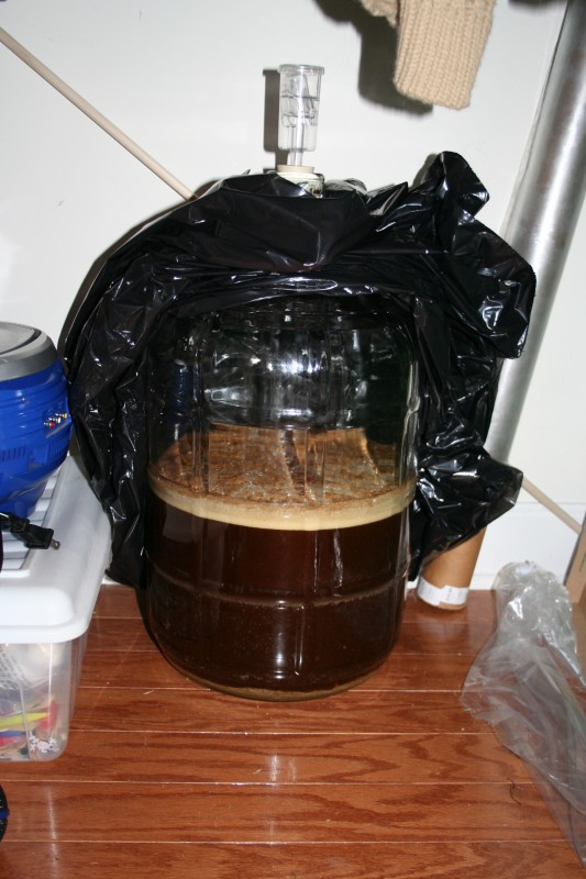 Bubbling Brown Ale - Day 2
