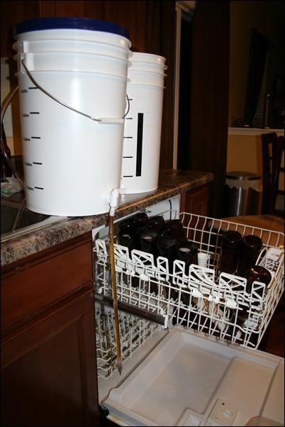 Bottling setup