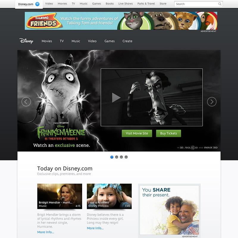 new-disney-website